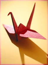 Folded Crane