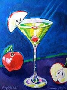 Appletini by Karen Elaine