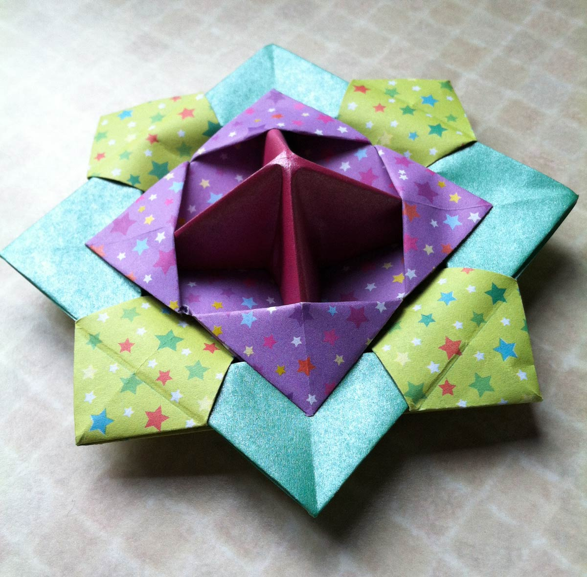 Origami top spinner images origami top spinner origami spinning top origami spinning top source abuse report jeuxipadfo Images