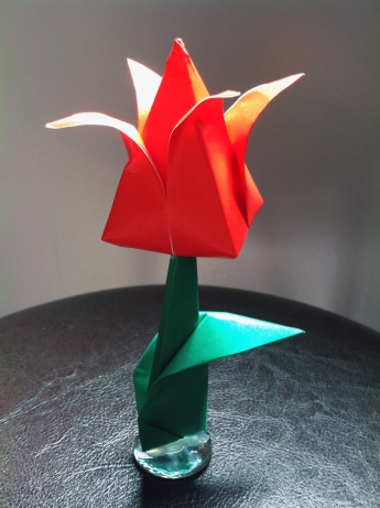Tulip on a Stand
