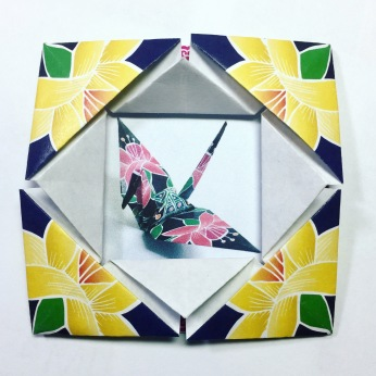 Kaleidoscope Origami Frame